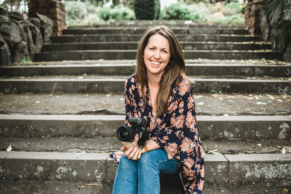 Small business owner, photographer Jess Worrall