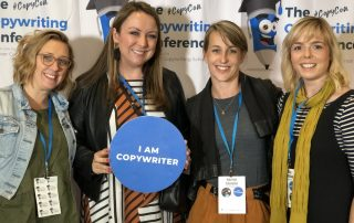 Copywriters at CopyCon copywriting conference