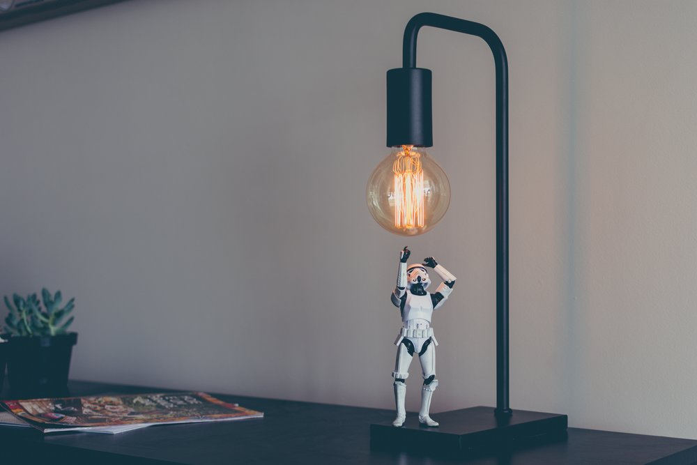 Star Wars-themed copywriting lightbulb moments